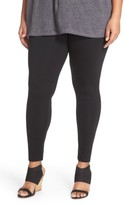 Sejour Plus Size Women's Ponte Leggings