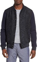 Scotch & Soda Men's Contrast Print Bomber Jacket