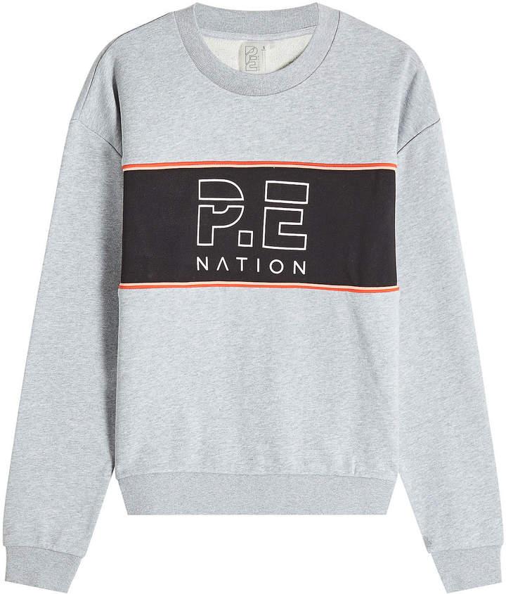 P.E Nation The Invictus Cotton Sweatshirt