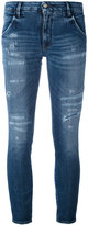 Cycle skinny jeans - women - Cotton/Polyurethane - 25