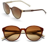 Andrew Marc 51mm Round Sunglasses