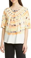 Raquel Allegra Tie Dye Cotton T-Shirt