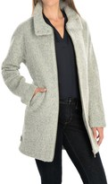 Bernardo Boucle Coat (For Women)