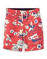 Ralph Lauren Sanibel Tropical Board Shorts, Size 5-7