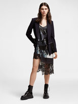 DKNY Mixed Media Blazer
