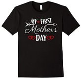 Women's Maternity Mother's Day Shirt My First Mother's Day S