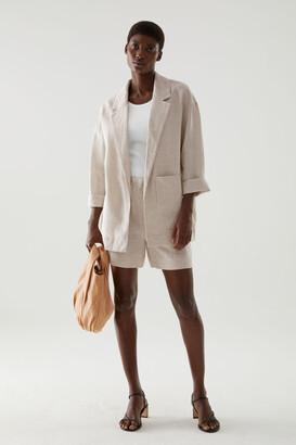 Cos Linen Oversized Blazer