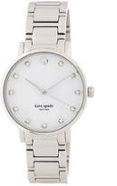 Kate Spade Women's Gramercy Crystal Marker Bracelet Watch