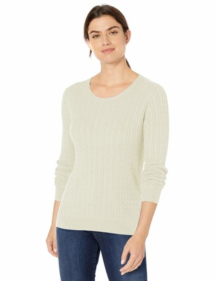Amazon Essentials Women's Standard Lightweight Cable Crewneck Sweater
