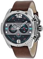 Diesel Ironside DZ4387 Men's Gunmetal-Plated Stainless Steel Chronograph Watch