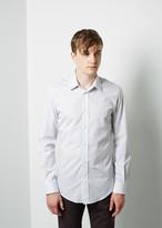 Maison Margiela Line 14 Striped Poplin Shirt