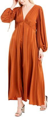 The Row Sante Silk Maxi Dress