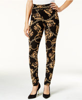 Thalia Sodi Chain-Print Leggings, Only at Macy's