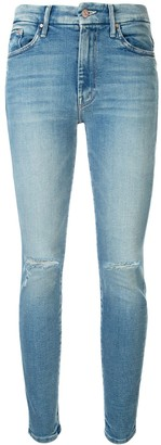 Mother The High Waisted Looker slim-fit jeans