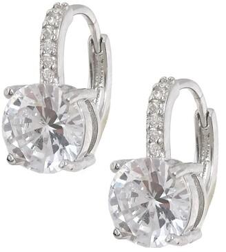 Savvy Cie CZ Leverback Earrings