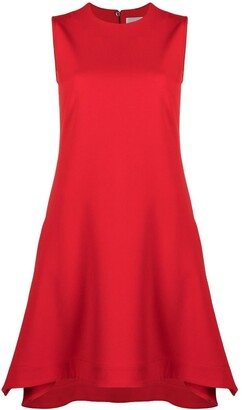Victoria Victoria Beckham Asymmetric Mini Dress