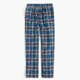 J.Crew Flannel pajama pant in blue plaid