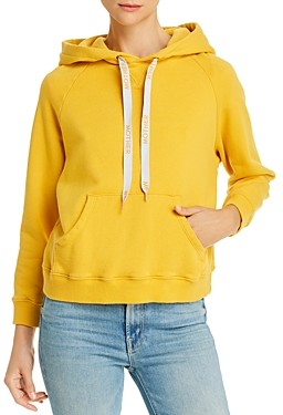 Mother The Square Cotton Hoodie