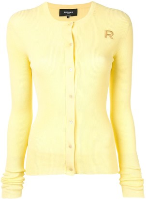 Rochas Ribbed Knit Cardigan