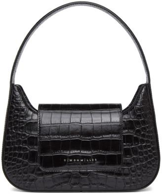 Simon Miller Black Croc Retro Bag