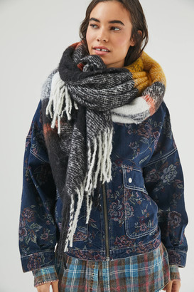 Urban Outfitters Paloma Plaid Scarf