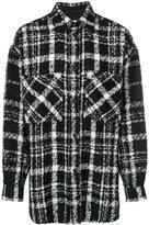Faith Connexion knitted pattern shirt - men - Cotton/Acrylic/Polyamide/Alpaca - M