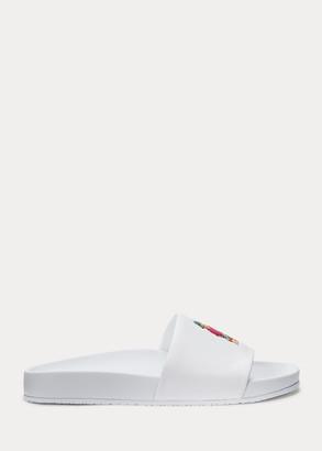 Ralph Lauren Cayson Polo Bear Slide Sandal