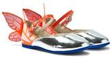 Sophia Webster Mini Chiara Mini Silver Butterfly Shoes