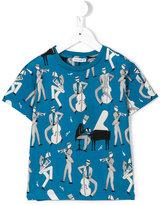 Dolce & Gabbana jazz musicians T-shirt