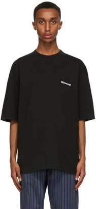 Balenciaga Black BB Medium Fit T-Shirt