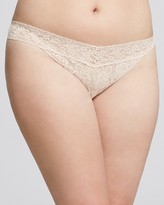 Hanky Panky Plus Original-Rise Thong #4811X