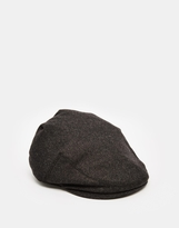 Goorin Hard Eye Flat Cap With Ear Flaps - Grey