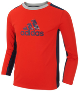 adidas Bright Red 'Adidas' Scrimmage Training Top - Toddler & Boys