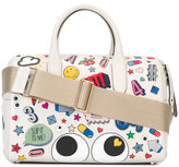 Anya Hindmarch allover patches tote - women - Calf Leather/Leather - One Size