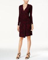 Thalia Sodi Printed Wrap Dress, Created for Macy's