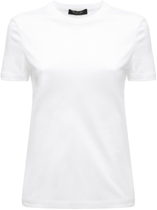 Loro Piana Crewneck Cotton Jersey T-Shirt