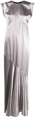 Philosophy di Lorenzo Serafini Bias Cut Draped Gown