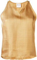 Forte Forte v-neck tank top - women - Polyamide/Viscose - 2