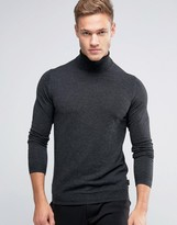 Ted Baker Silk Mix Roll Neck Sweater