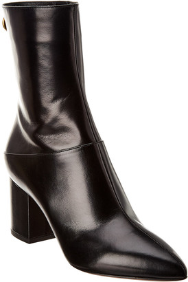 Valentino Ringstud 70 Leather Bootie