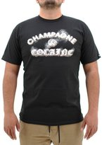 Crooks & Castles Crooks and Castles Men's Knit Crew C&C Core SS T Shirt Black S