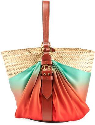 Chloé Panier Silk Shoulder Bag
