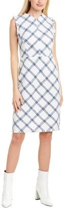 Rebecca Taylor Plaid Tweed Mini Dress