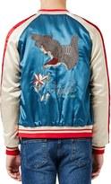 Topman Men's Embroidered Eagle Souvenir Jacket