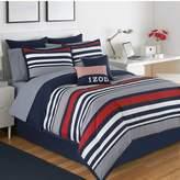 Izod Varsity Stripe Reversible Comforter Set