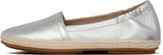 FitFlop Siren Metallic Leather Espadrilles