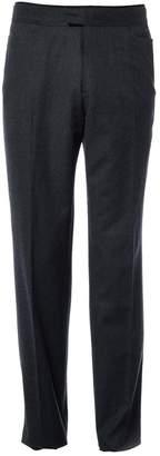 Alexander McQueen Grey Wool Trousers