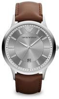 Emporio Armani Polished Stainless Steel Watch