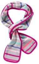 Crazy 8 Stripe Microfleece Scarf