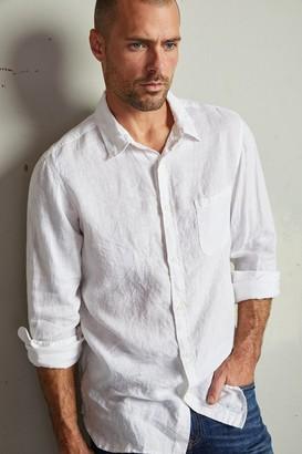 Velvet by Graham & Spencer Benton Linen Button-Up Shirt